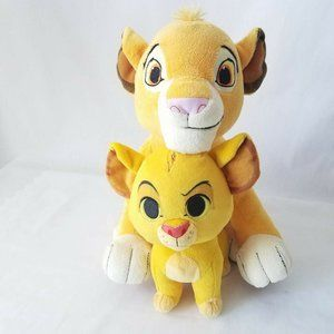 """Disney The Lion King and Funko Simba 11"""" and 7"""""""